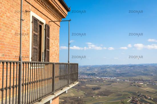 Barolo and Barbaresco countryside in Piedmont region, Italy. Unesco site.