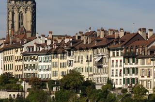 Bürgerhäuser in der Altstadt von Bern