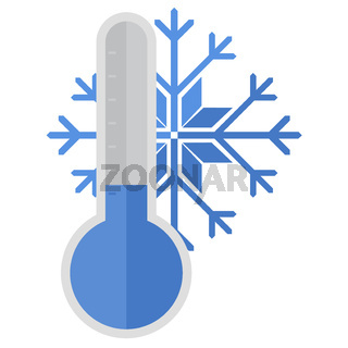 Thermometer snow