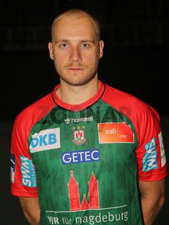 Daniel Pettersson  SC Magdeburg HBL Liqui Moly Handball-Bundesliga Saison 2021-22