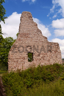 Medieval Ruin of a Castle