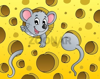 Mouse theme image 1 - picture illustration.