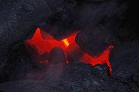 heisse Lava