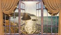 Ocean view window
