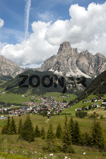 Lanscape of Corvara
