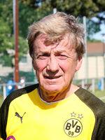 deutscher Fussballer Frank Mill  BVB Borussia Dortmund