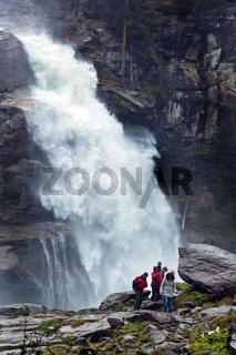 Krimmler Wasserfälle in Österreich