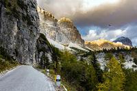 The Falzarego Pass
