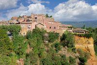 Roussillon (Vaucluse),Provence,Frankreich