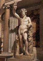 Rome, Galleria Borghese. Colossal statue of Bacchus