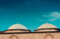 Outer view of dome in Ottoman architecture  in Turkey