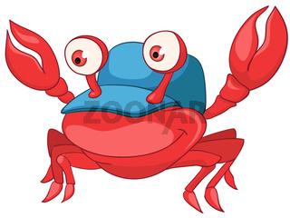 Cartoon Character Crab