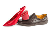 Man and woman shoes