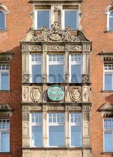Gründerzeit Fassade in Lübeck