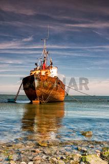 Trawler In Rumpside