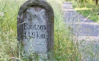 Historische Wegweiser Bautzen