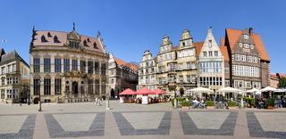 Giebelhäuser in Bremen