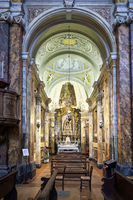 Città della Pieve Umbria Italy. The Cathedral of San Gervasio e Protasio