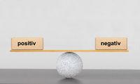Positiv und Negativ im Gleichgewicht