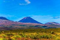 Ngauruhoe - the youngest active volcano