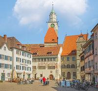 Hofstatt mit Münster St.Nikolaus, Überlingen