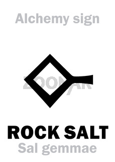 Alchemy: ROCK SALT (Sal gemmae, S.fossile)