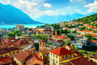 Rooftop view of Kotor