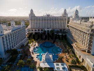 Aruba March 2021, Luxury hotels at Palm Beach Aruba