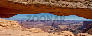 Panorama of Mesa Arch