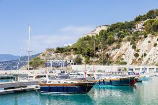 Cala del Forte - Ventimiglia. Principality of Monaco ports' brand new marina