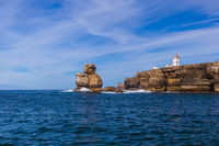 Lighthouse in Peniche - Portugal