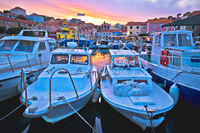 Fishermen village of Sali on Dugi Otok island evening view
