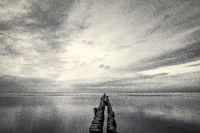 Horizont über der See