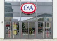 Filiale der Firma C&A in Kempten