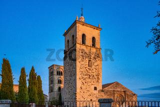 Church of Santa Maria la Mayor Trujillo Caceres province, Extremadura, Spain
