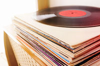 Collection of the vinyl records