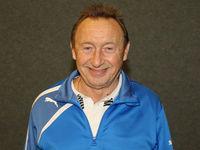 DDR Fußball-Nationalspieler u. Legende Joachim Streich Spieler bei FC Hansa Rostock u 1.FC Magdeburg