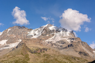 Rocky mountains in the Italian Alps.