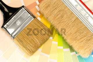 Selection of painting equipments
