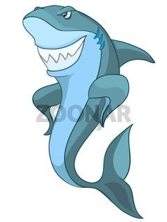 Cartoon Character Shark