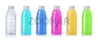 set of Plastic bottle of sweetwater