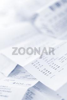 Sales receipts