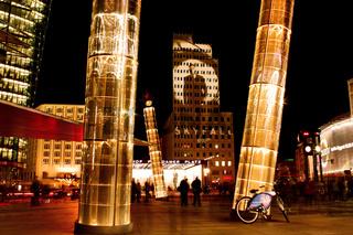 Skyfall am Potsdamer Platz