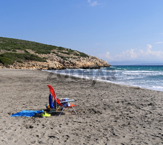 Spiaggia Coaquaddus auf Sant'Antioco