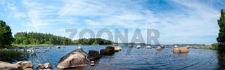 The lake Innaren, Sweden