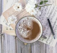 Kaffee und Musik