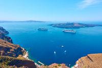 Sea from Santotini Island