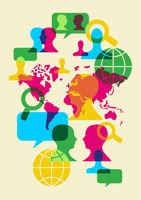social network communication symbols