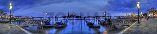 Venedig Panorama, Blick auf Canal Grande