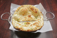 Delicioius Indian or Afghan Naan